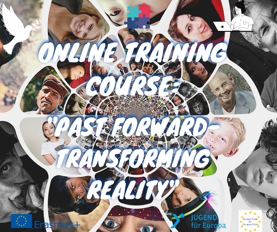 Poster- Online training course_ _Past forward- transforming reality_ (1)